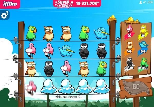 Gli uccelli tristi del gioco Animali d'oro