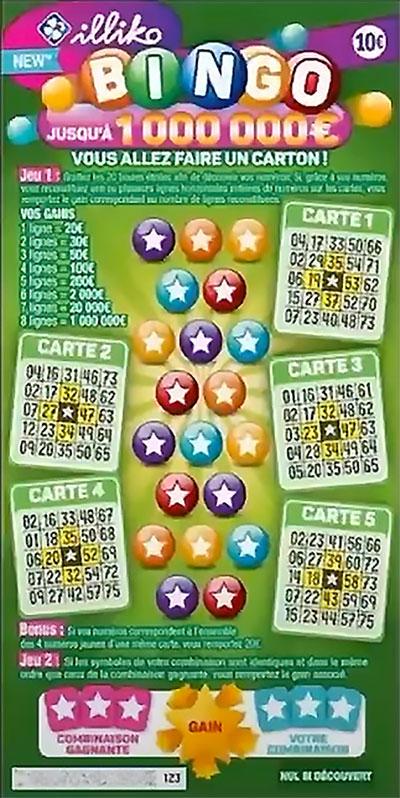 nuovo FDJ Bingo